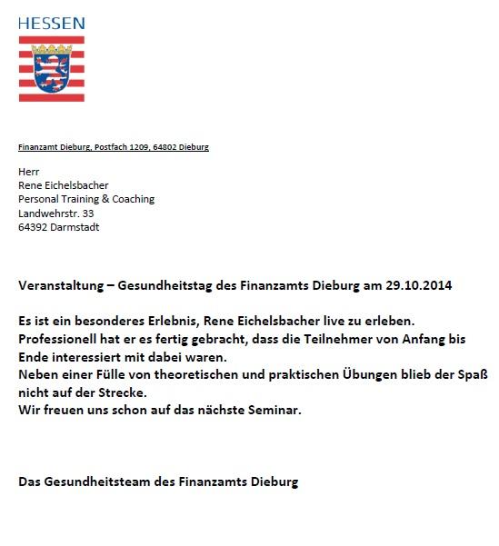 René Eichelsbacher - Der Personal Trainer, der Sie bewegen wird. Der Spezialist für nachhaltiges Abnehmen in Darmstadt!